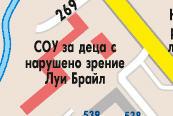 Карта на района