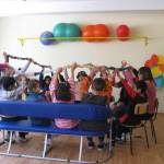 Занимания с децата с множество увреждания