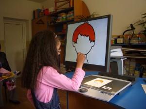Зрително стимулиране на слабо виждащи деца