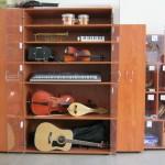 За музикалното обучениесе използват специални средства
